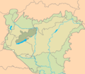 Bakonyicum floristic district in Hungary.png