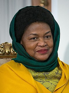 Baleka Mbete South African politician