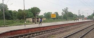 Ballabhgarh - Balramgarh railway station