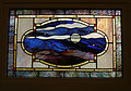 Ballard Kadampa Buddhist Temple stained glass 02.jpg