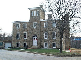 National Register of Historic Places listings in Baltimore County, Maryland - Image: Baltimore County Jail Dec 09