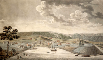 "Baltimore Town in 1752, (at ""The Basin"") Baltimore in 1752.png"