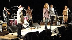 Band of Joy fronted by Robert Plant, October 2010