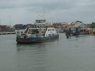 Banjul - Banjul ferry