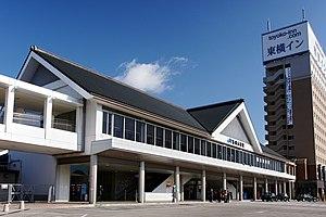 Banshū-Akō Station - Image: Banshu Ako Station 01n 3200