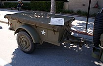 the world war ii quarter-ton jeep trailer (picture 1 and 2 from manual