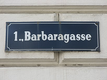 How to get to Barbaragasse with public transit - About the place