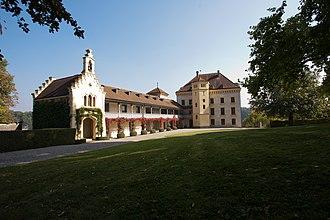 Barberêche - Image: Barbareche Chateau de Barbareche