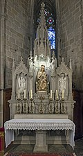 Barcelona Cathedral Interior - Chapel of The Holy Mother of Happiness - Josep M. Camps Arnau - Alaster 1945.jpg