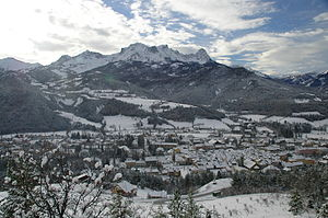 Barcelonnette - Barcelonnette in winter