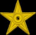 Barnstar yellowish green.png