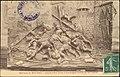 Basilique du Bois Chenu, Jeanne d'Arc prise à Compiègne (Ivoire du Xve siècle) CP 5494 PR.jpg