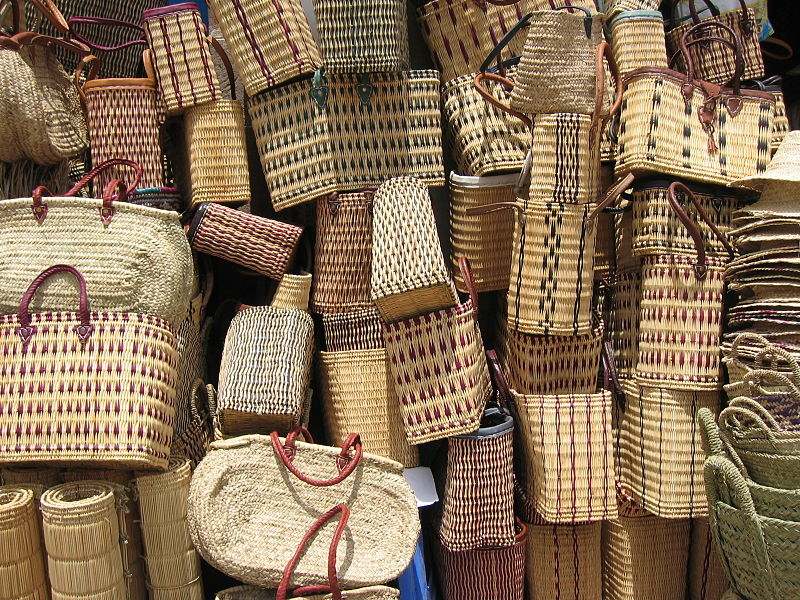 Handicraft Basketry : File baskets for sale  g wikimedia commons