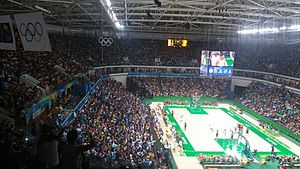 Argentina at the 2016 Summer Olympics - Quarterfinal match between Argentina and the United States
