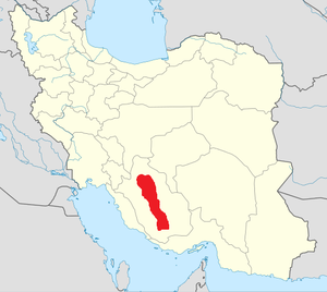 Basseri - Basseries' map in Iran