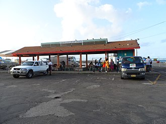 Transport in Saint Kitts and Nevis - Saint Kitts and Nevis ferry terminal