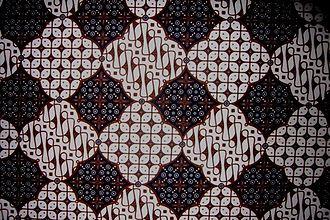 Priyayi - A batik pattern from Yogyakarta.