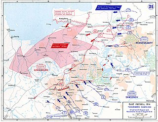 Russian invasion of East Prussia (1914) battle