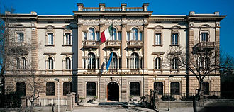 Banco di Sardegna - Banco di Sardegna's headquarter and Presidency in Sassari