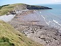 Beach at Dunraven Bay on a hot Summer's day - geograph.org.uk - 900349.jpg