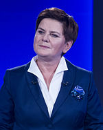 Beata Szydło in 2015
