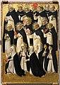 Beato angelico, cristo glorificato nella corte del paradiso, 1423-24, da s. domenico, fiesole 10.jpg