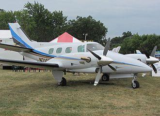 Beechcraft Duke - Rocket Engineering Duke conversion