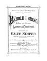 Behold I Bring - Caleb Simper.pdf
