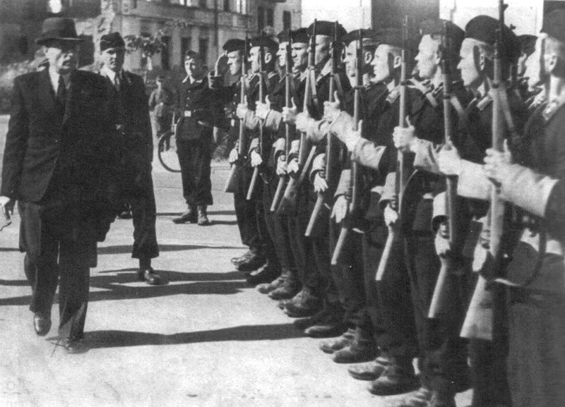 Belarusian Auxiliary Police with Astrouski