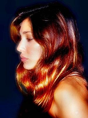 Belén Rodríguez - Belén photographed with brown hair