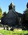 Bellcote and weathervane, St David's Church, Bettws - geograph.org.uk - 5641908.jpg