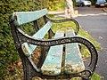 Bench, Barnett Demesne - geograph.org.uk - 1613290.jpg