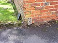 Bench Mark Flush Bracket - geograph.org.uk - 223115.jpg