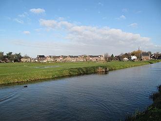 Berkel en Rodenrijs - Image: Berkel en Rodenrijs Noordeindseweg kade en polder