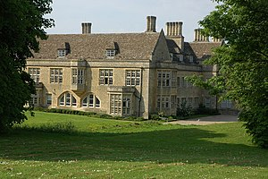 Randall Wells - Besford Court; the large stonebuilt extension which was added in 1912