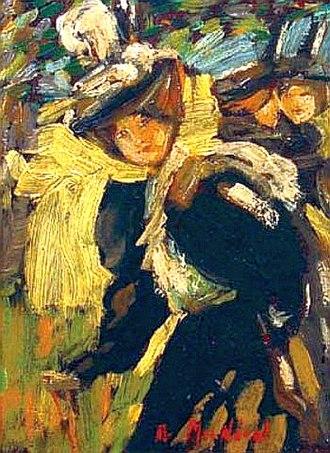 Bessie MacNicol - Image: Bessie Mac Nicol In The Park