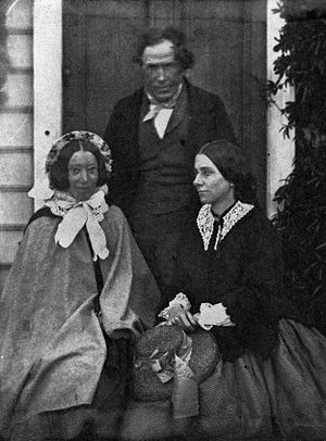 Andrew Sinclair (botanist) - Sinclair with spouses of politicians: Bethia Featherston (left) and Jessie Crawford