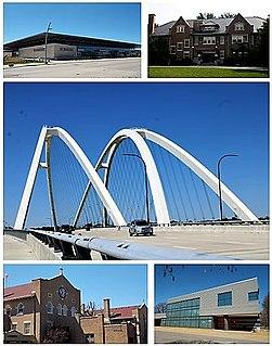 Bettendorf, Iowa City in Iowa, United States