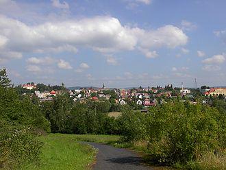 Bezdružice - Bezdružice seen from the south