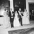 Bezoek van de president van Argentinië, Arturo Frondizi op het Huis den Bosch (g, Bestanddeelnr 911-3876.jpg