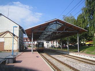 Kraich Valley Railway - Menzingen station