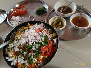 Bhelpuri - Preparation of Bhel in Home