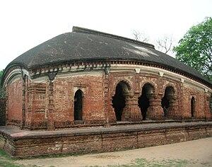 Durjan Singha Dev - Image: Bhogmandap of Madan Mohan Temple Arnab Dutta 2011