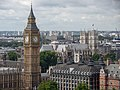 Big Ben from the London Eye, August 2014.JPG