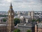 Big Ben from the London Eye, August 2014.JPG
