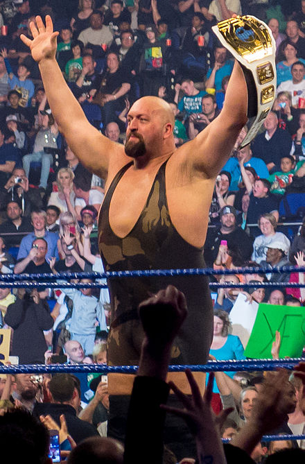 The Big Show as WWE Intercontinental Champion in April 2012.