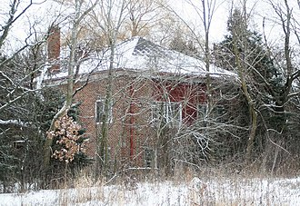 National Register of Historic Places listings in Ozaukee County, Wisconsin - Image: Bigelow School Mequon Dec 09