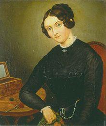 Johanna Kinkel, 1840 (Quelle: Wikimedia)