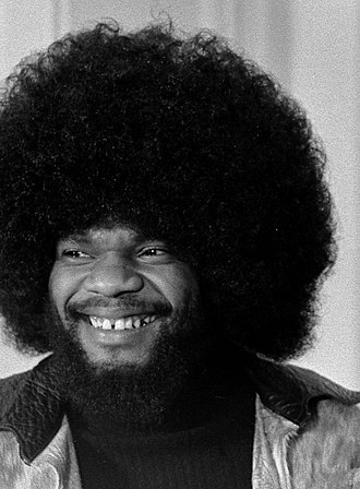Afro - Musician Billy Preston with a fro in 1974