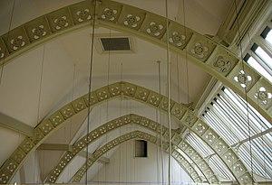 Martin & Chamberlain - Image: Birmingham School of Art roof ironwork